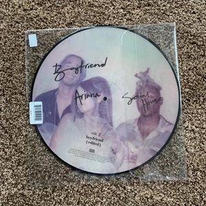 NEW Ariana Grande Boyfriend Picture Disc Vinyl